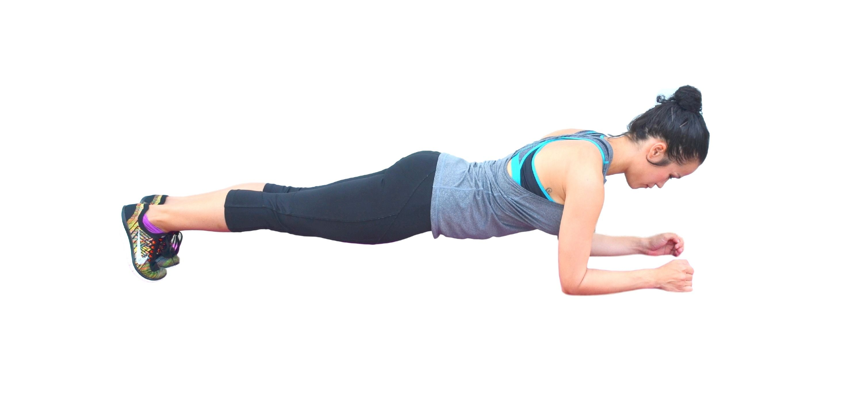 forearm plank muscle workout