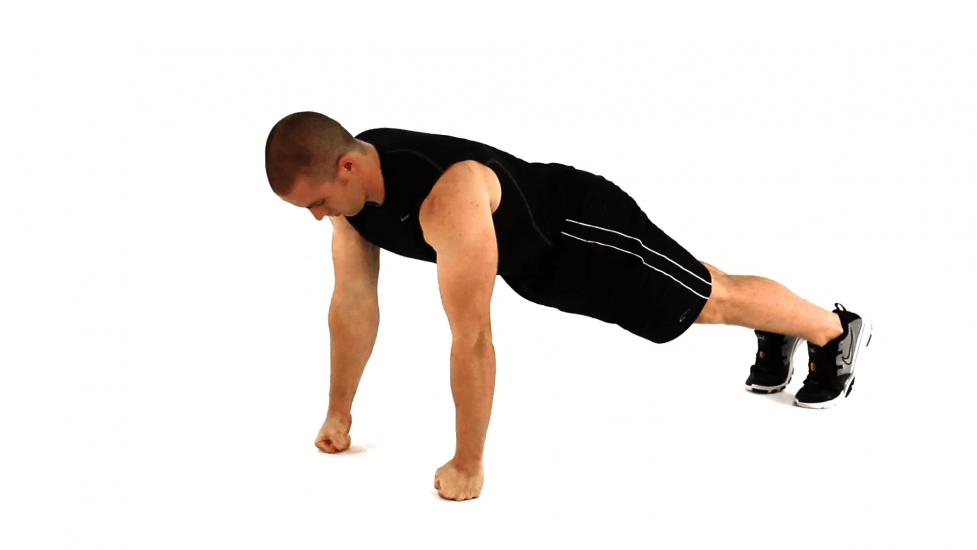 knuckle pushups forearm exercise bones